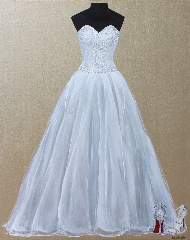 Wedding Dress Paintings